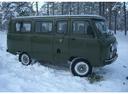 Фото авто УАЗ 452 2 поколение, ракурс: 270 цвет: зеленый