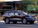 Фото авто Hyundai Santa Fe SM, ракурс: 270 цвет: черный