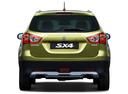 Фото авто Suzuki SX4 2 поколение, ракурс: 180 цвет: салатовый