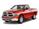Фото авто Dodge Ram 4 поколение, ракурс: 45 цвет: красный