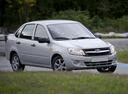 Фото авто ВАЗ (Lada) Granta 1 поколение, ракурс: 315 цвет: серебряный