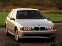 Фото авто BMW 5 серия E39 [рестайлинг], ракурс: 315 цвет: серебряный