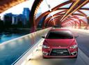 Фото авто Mitsubishi Lancer X [2-й рестайлинг],  цвет: красный