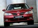 Фото авто Nissan Almera N16,  цвет: красный