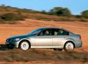 Фото авто BMW 3 серия E90/E91/E92/E93, ракурс: 90 цвет: голубой
