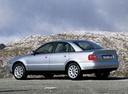 Фото авто Audi A4 B5, ракурс: 135 цвет: серебряный