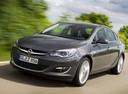 Фото авто Opel Astra J [рестайлинг], ракурс: 45 цвет: серый