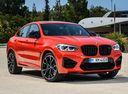 Фото авто BMW X4 M F98, ракурс: 315 цвет: красный