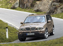Фото авто BMW X5 E53 [рестайлинг], ракурс: 45 цвет: сафари