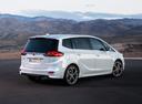 Фото авто Opel Zafira C [рестайлинг], ракурс: 225 цвет: белый