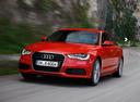 Фото авто Audi A6 4G/C7, ракурс: 45 цвет: красный