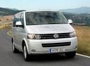 Фото авто Volkswagen Caravelle T5 [рестайлинг], ракурс: 315 цвет: серебряный