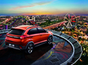 Фото авто Chery Tiggo 2 1 поколение, ракурс: 225 цвет: оранжевый