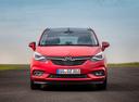 Фото авто Opel Zafira C [рестайлинг],  цвет: красный