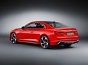 Фото авто Audi RS 5 F5, ракурс: 135 цвет: красный