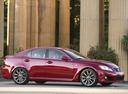 Фото авто Lexus IS XE20, ракурс: 315 цвет: красный