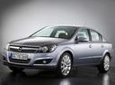Фото авто Opel Astra Family/H [рестайлинг], ракурс: 45 цвет: серебряный