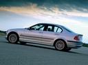Фото авто BMW 3 серия E46, ракурс: 90 цвет: серебряный
