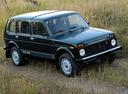 Фото авто ВАЗ (Lada) 4x4 1 поколение [рестайлинг], ракурс: 315 цвет: мокрый асфальт