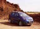 Фото авто Chery IndiS 1 поколение, ракурс: 315 цвет: синий