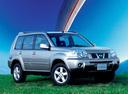 Фото авто Nissan X-Trail T30 [рестайлинг], ракурс: 315 цвет: серебряный