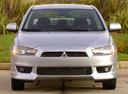 Фото авто Mitsubishi Lancer X,  цвет: серебряный