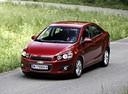 Фото авто Chevrolet Aveo T300,  цвет: красный