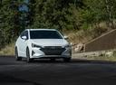 Фото авто Hyundai Elantra AD [рестайлинг], ракурс: 315 цвет: белый