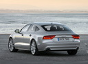 Фото авто Audi A7 4G, ракурс: 135 цвет: серый