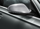 Фото авто Audi RS 6 C7 [рестайлинг], ракурс: боковая часть цвет: серебряный