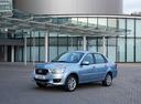 Фото авто Datsun on-DO 1 поколение, ракурс: 45 цвет: голубой