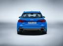 Фото авто Audi RS 4 B9, ракурс: 180 - рендер цвет: голубой