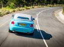 Фото авто Rolls-Royce Dawn 1 поколение, ракурс: 180 цвет: голубой