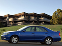 Фото авто Toyota Camry XV30, ракурс: 90 цвет: синий