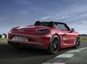 Фото авто Porsche Boxster 981, ракурс: 225 цвет: красный