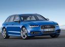Фото авто Audi S6 C7 [рестайлинг], ракурс: 315 цвет: голубой