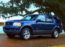 Фото авто Ford Explorer 3 поколение, ракурс: 45 цвет: синий