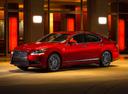 Фото авто Lexus LS 4 поколение [2-й рестайлинг], ракурс: 45 цвет: бордовый