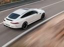 Фото авто Mercedes-Benz AMG GT C190 [рестайлинг], ракурс: 225 цвет: белый