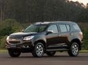 Фото авто Chevrolet TrailBlazer 2 поколение, ракурс: 45 цвет: черный