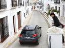 Фото авто Hyundai ix35 1 поколение, ракурс: 180 цвет: серый