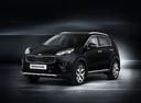 Фото авто Kia Sportage 4 поколение, ракурс: 45 - рендер цвет: черный