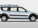 Фото авто ВАЗ (Lada) Largus 1 поколение, ракурс: 270 цвет: белый