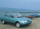 Фото авто ВАЗ (Lada) 2110 1 поколение, ракурс: 315 цвет: голубой