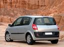 Фото авто Renault Scenic 2 поколение, ракурс: 135 цвет: серебряный