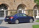 Фото авто Subaru Legacy 5 поколение, ракурс: 225 цвет: синий