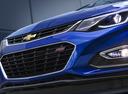 Фото авто Chevrolet Cruze 3 поколение, ракурс: передняя часть цвет: синий