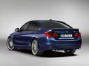 Фото авто Alpina B3 F30/F31, ракурс: 135 цвет: синий