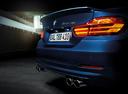 Фото авто Alpina B4 F32/F33, ракурс: задняя часть цвет: синий