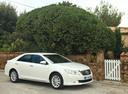 Фото авто Toyota Camry XV50, ракурс: 315 цвет: белый